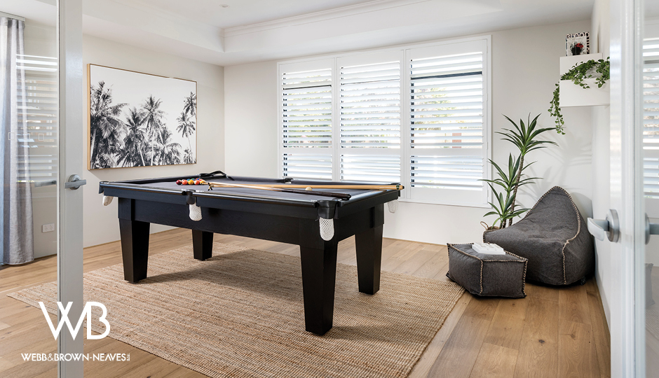 Show Home Pool Table